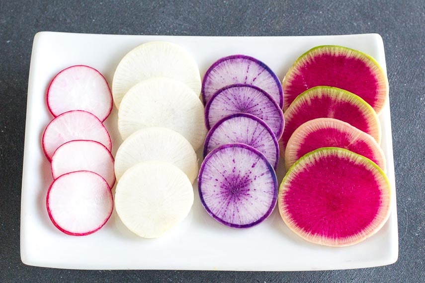 all Colours RADISHES